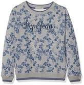Pepe Jeans Girl's Pg580625 Sweatshirt,(Manufacturer Size: 2)