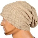 Magicub Men Women Warm Winter Knit Ski Beanie Skull Slouchy Oversize Cap Chic Hat Unisex (BG)