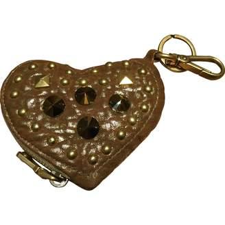 Miu Miu Gold Leather Purses, wallets & cases
