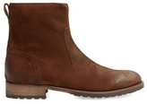 Belstaff Attwell Burnished-suede Boots
