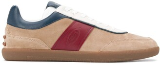 Tod's Suede-Panel Sneakers