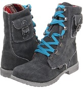 Roxy Kids - Nugget (Toddler/Youth) (Black) - Footwear