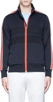PS by Paul Smith Contrast stripe jersey track jacket