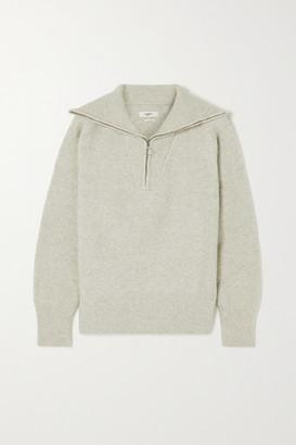 Etoile Isabel Marant Fancy Wool-blend Sweater - Gray