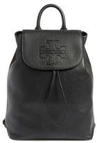 Tory Burch 'Harper' Leather Backpack - Black