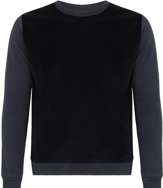 Tress Clothing Navy Cotton Cashmere Sweater