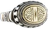 Konstantino Two-Tone Signet Ring