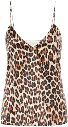 Caroline Constas Exclusive to Mytheresa Silk-satin camisole