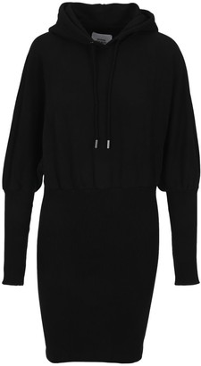 Opening Ceremony Embroidered Logo Hoodie Dress