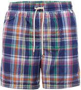 Polo Ralph Lauren Men's Plaid Swim Shorts