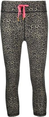 The Upside Leopard Print Cropped Leggings