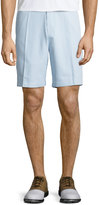 Peter Millar Salem High Grid-Print Shorts