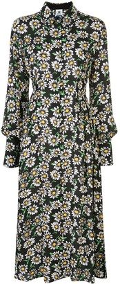 M Missoni Floral Print Shirt Dress