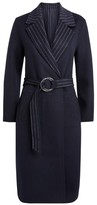 Claudie Pierlot Reversible Wool-Rich Coat