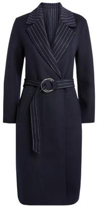 Claudie Pierlot Reversible Wool-Rich Coat