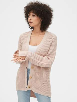 Gap Twist-Sleeve Cardigan Sweater