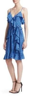 Derek Lam 10 Crosby Ruffle Wrap Dress
