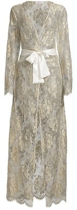 Gilda and Pearl Reverie Lace Long Robe