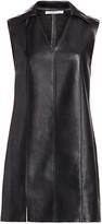 Alexander Wang Faux Leather Sleeveless Dress