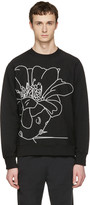 Paul Smith Black Embroidered Pullover