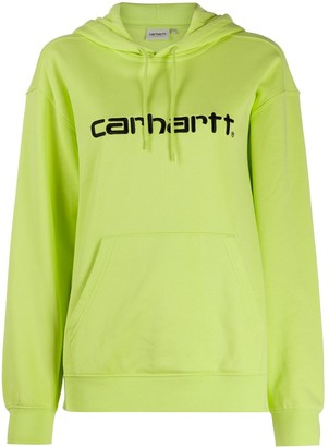 Carhartt Wip Logo-Embroidered Hooded Sweatshirt