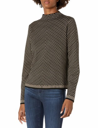 Max Studio Women's Mock Neck Sweater