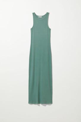 Weekday Stella Tank Dress - Blue
