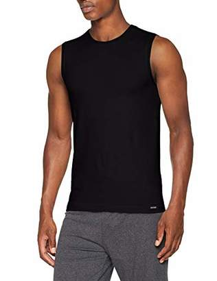 Skiny 086326, Tank Top for Men, Black (7662 Black), 4