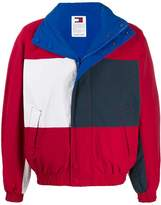 Tommy Jeans reversible colour-block jacket
