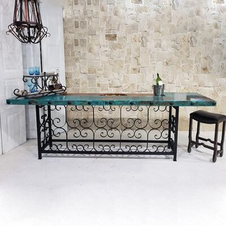 Bungalow Rose Oxidized Comptable Home Bar