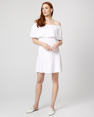 Le Château Jersey Knit Off-the-Shoulder Dress