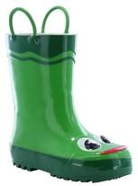 Western Chief Toddler Boy Frog Rain Boot Green