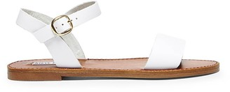 Steve Madden Donddi White Leather