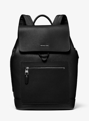 Michael Kors Hudson Pebbled Leather Backpack