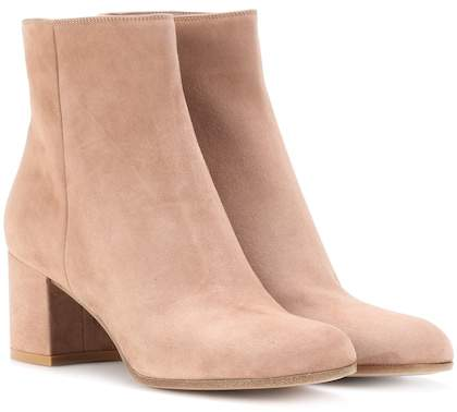 Gianvito Rossi Exclusive to mytheresa.com – Margaux Mid suede ankle boots