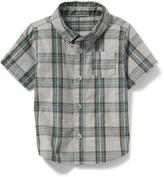 Old Navy Plaid Pocket Shirt for Baby