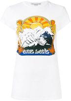 Stella McCartney One Love surf print T-shirt - women - Cotton - 38