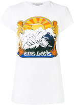 Stella McCartney One Love surf print T-shirt - women - Cotton - 40