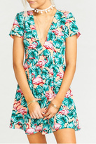 Show Me Your Mumu Flamingo Ibiza Dress