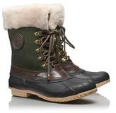 Tory Burch Jada Mid Shaft Duck Boots