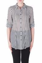 Joseph Ribkoff Roll Sleeve Tunic Blouse