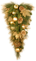 """clear National Tree Company 36"""" Decorative Collection Elegance Teardrop With Lights"""