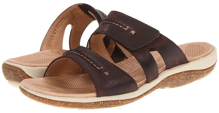 Acorn C2G Lite Slide (Dark Chocolate) - Footwear