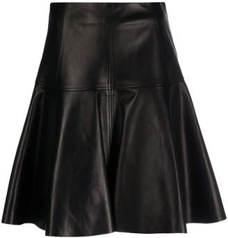 Drome high-waisted A-line skirt