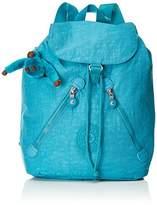 Kipling Fundamental, Women's Backpack, Türkis (Turquoise Dream), 42x42x16.5 cm (B x H T)