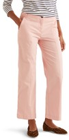 Boden Daisy Crop Stretch Cotton Chino Trousers