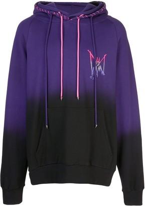 Mjb Marc Jacques Burton Double ombre-effect hoodie