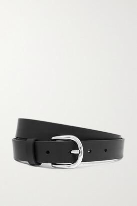 Isabel Marant Zap Leather Belt - Black