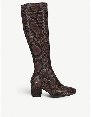 Aldo Larigonna faux-leather knee-length boots