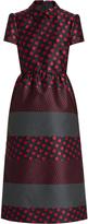 RED Valentino Polka-dot jacquard dress